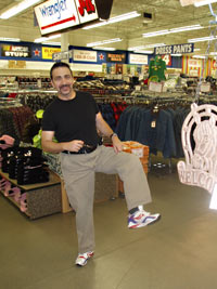JR\'s own Steve Nathan checks out some new sneakers!